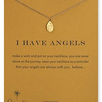 """Dogeared I Have Angels Pendant Necklace, 18"""""""