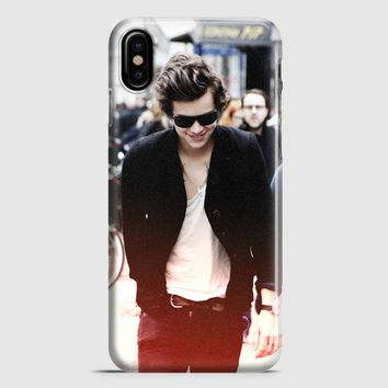 Harry Styles Tattoos Tshirt iPhone X Case
