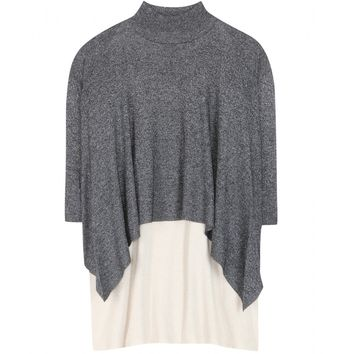 3.1 phillip lim - layered silk-blend top