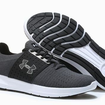 Under Armour Ua Speedform Slingwrap Gray/white Running Shoes 40 45 - Ready Stock