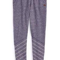 Girl's Roxy Stripe French Terry Pants,