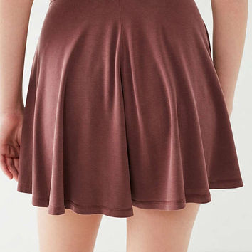 UO Veruca Cupro Mini Skirt | Urban Outfitters