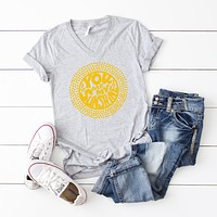 You are my Sunshine | V-Neck Graphic Tee