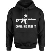 Come And Take It 2nd Amendment Gun Rights Adult Hoodie Sweatshirt