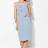Oh My Love Pinafore Midi Dress - Urban Outfitters
