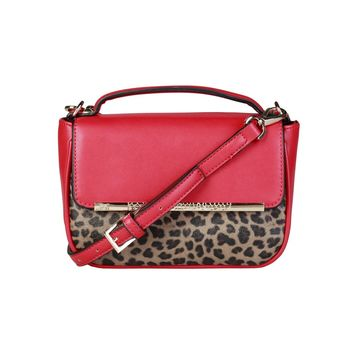 Cavalli Class Red Crossbody Bag