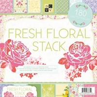 "DCWV Fresh Floral 12""x12"" Value Paper Stack 180 Sheets PS-005-00198"