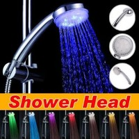 AMC Led Showerhead with 7 Built-in Color Modes