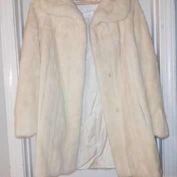Vintage blonde mink fur coat by GERHARDT