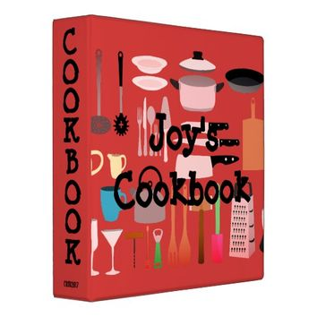 Cookbook Binder