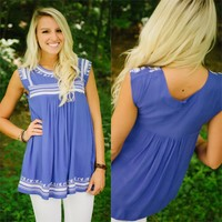 Twice As Nice Tunic - Piace Boutique