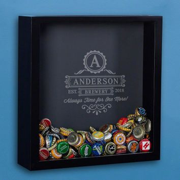 One More Beer Custom Shadow Box