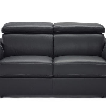 Ceno Leather Loveseat by Natuzzi Editions