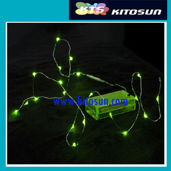 5pcs/bag 2M/20leds CR2032 battery operated manufacture direct holiday decoration led string lights