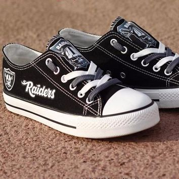 Raiders Custom Canvas Shoes