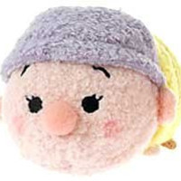1 X Disney Exclusive Tsum Tsum 3.5 Inch Mini Plush Dopey