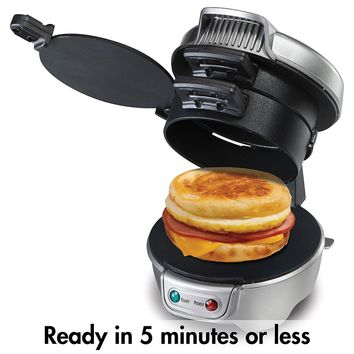 Nonstick Breakfast Hamburger Sandwich Maker Machine Quick Convenient Home Appliance Home Kitchen Meat Poultry Tools Accessories