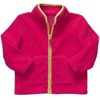 Carters Infant Girl Pink Microfleece Jacket 12 to 24 Months $13.99