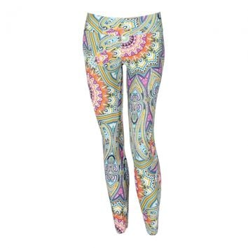 Liquido Active - Pattern Legging FairyTale - Pattern Legging - Bottoms