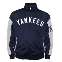 New York Yankees Tricot Track Jacket - Big & Tall, Size:
