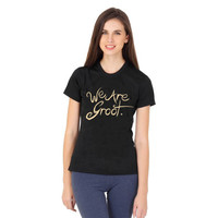 we are groot women tshirt ----- size S,M,L,XL,2L,3XL