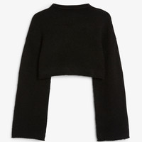 Monki | Style crush | Cropped bell sleeve sweater