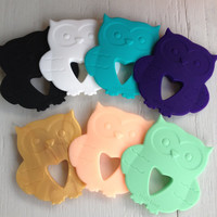 Silicone Baby Teether | Owl
