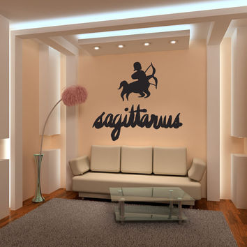 Vinyl Wall Decal Sticker Sagittarius #OS_MB438