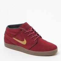 Nike SB Lunar Stefan Janoski Mid Sneakers - Mens Shoes - Red/Gold
