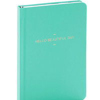 Pastel Start the Day Bright Journal by ModCloth