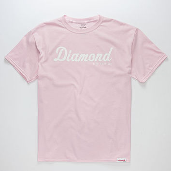 DIAMOND SUPPLY CO. Diamond Script Mens T-Shirt | Graphic Tees