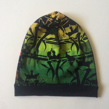 KOTTONMOUTH KINGS Child Slouchie Beanie - Upcycled Rock/Concert T-shirt