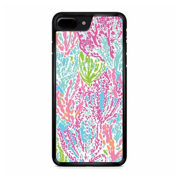 Lilly Pulitzer Turquoise iPhone 8 Plus Case