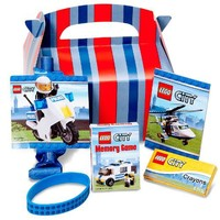 Amscan LEGO City Party Favor Box