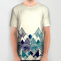 Two Worlds All Over Print Shirt by Rskinner1122