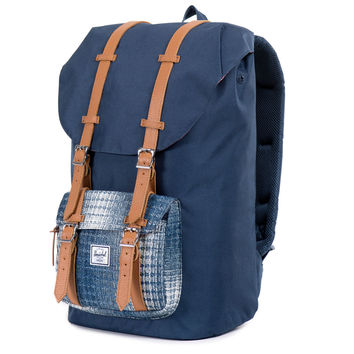 Herschel Supply Co.: Little America Backpack - Navy / Navy Knit (Cabin Collection) - Navy / Navy Knit / One