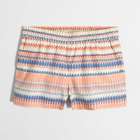 Printed Pull-On Short : Women's Shorts | J.Crew Factory