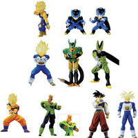 Bandai Dragon Ball Z Super Modeling Soul Of Hyper Figuration Part 6 9 Color 9 Monochrome 18 Trading Figure Set