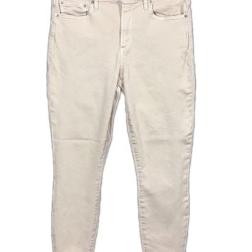 Gap 1969 Jeans Resolution True Skinny Soft Pink Stretch Women 29R Actual 28x27.5 - Preowned