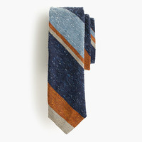 J.Crew Mens English Silk Tie In Mixed Stripe