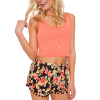It's Britney Crop Top - Neon Coral