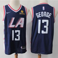 Los Angeles Clippers 13 Paul George Swingman Basketball Jersey