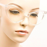 Pin Up Cat Eye Vintage Glasses