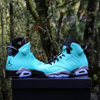 BC SPBEST Custom Nike Air Jordan Retro 6 TIFF (you supply base shoe)