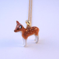 Forest Deer Necklace - Pony Lane
