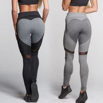 Womens Sports  Fashion YOGA  Pants Workout Gym Fitness Leggings Pants Jumpsuit Athletic