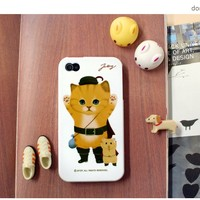 Kitty iPhone 4 Case v1