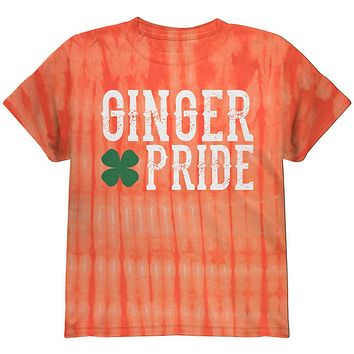 St. Patricks Day Ginger Pride Youth T Shirt