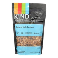 Kind Clusters - Granola - Healthy Grains - Banana Nut - 11 Oz - Case Of 6