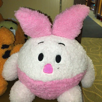 """disney parks authentic 10"""" piglet soft round plush pillow new with tags"""